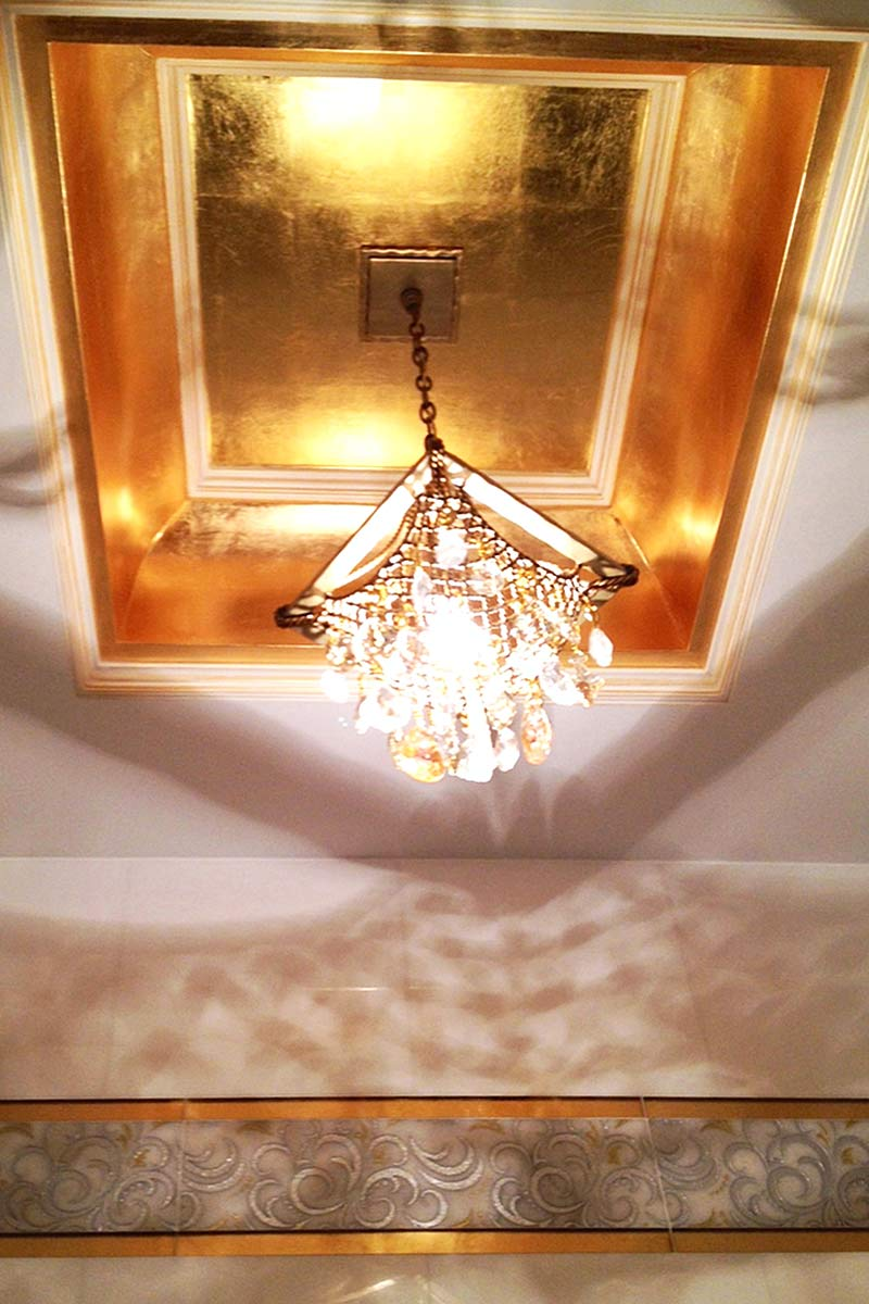 Gold Leaf Gliding Decorative Finishes