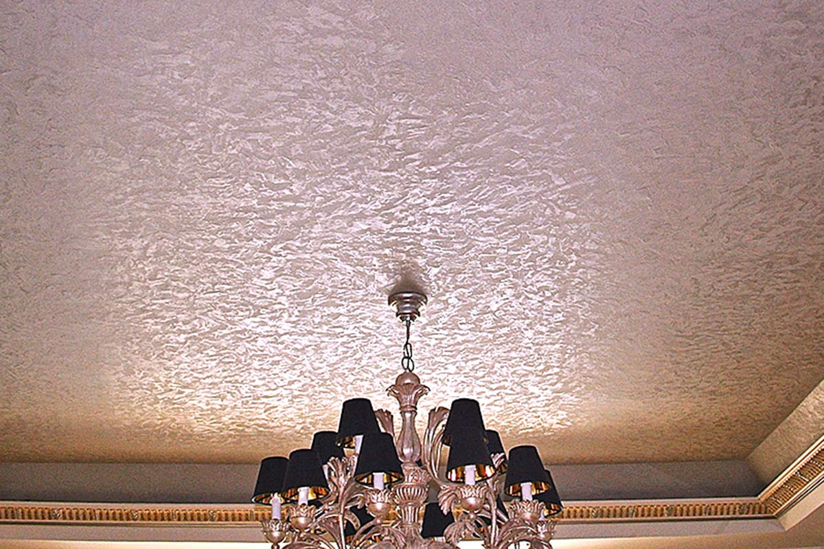 Metallic Plaster and Textures Decorative Finishes