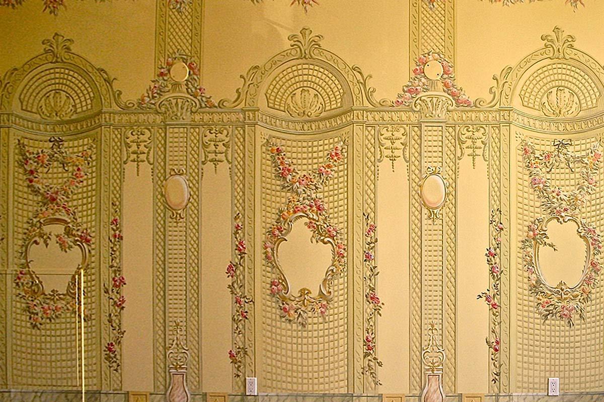 French Orangery Fresco Mural Decorative Finishes