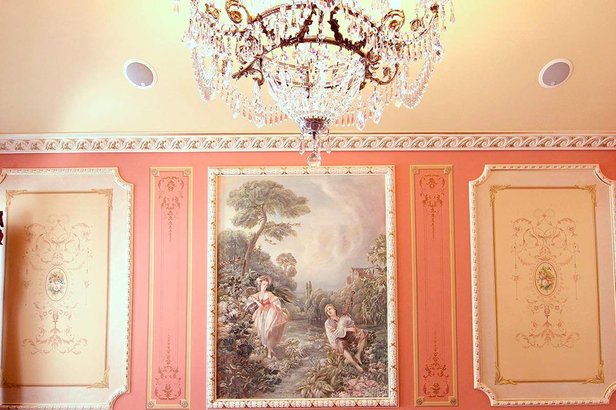 Dinning Room Mural Decorative Finishes