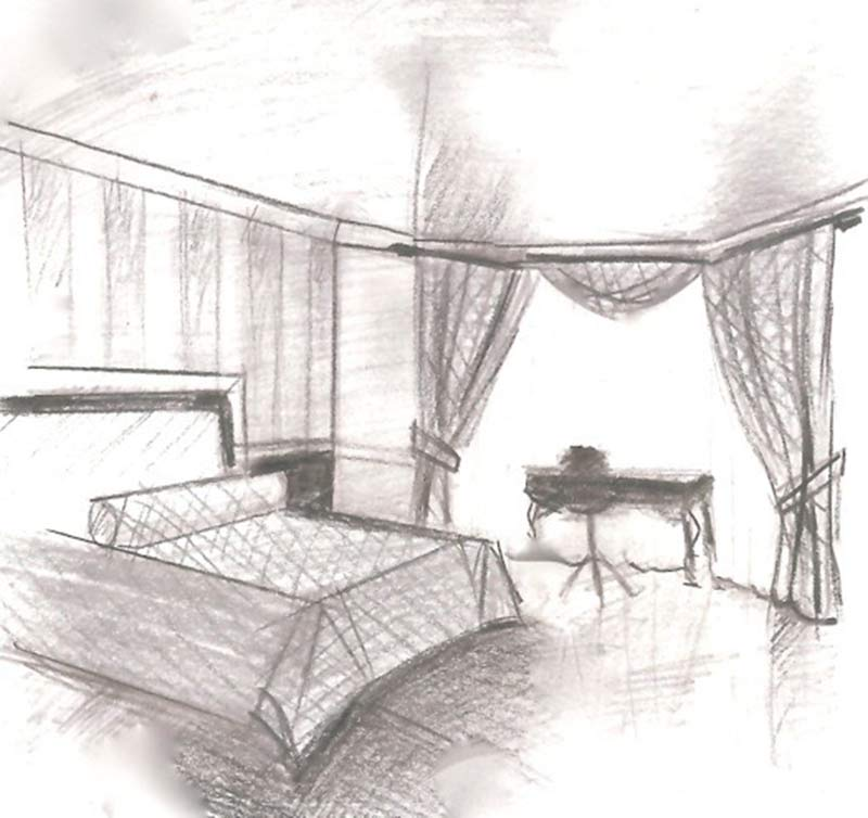 Bedroom from Sketch to Reality Bedroom News